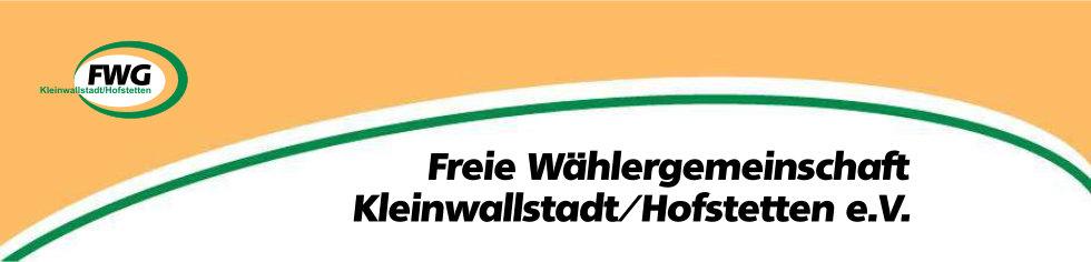 FWG Kleinwallstadt/Hofstetten